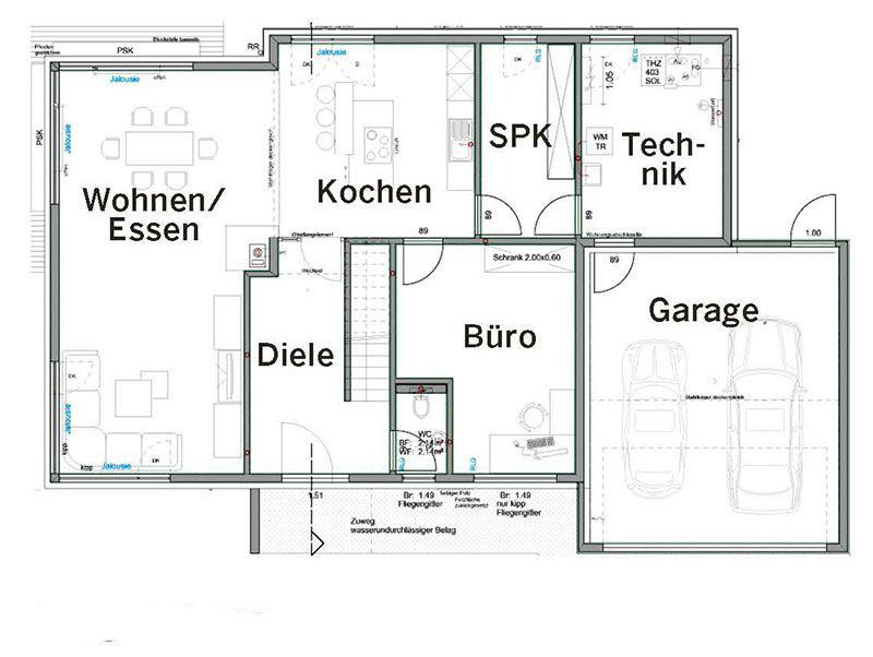 Erdgeschoss Haus Pfrang