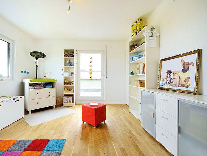Kinderzimmer Haus Pfrang von Fertighaus Weiss