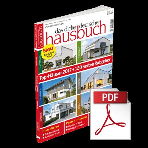 das dicke deutsche hausbuch 2017 - ebook