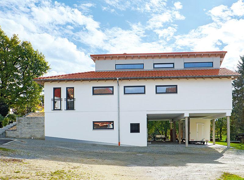 Außenansicht Haus Langmeyer von Sonnleitner