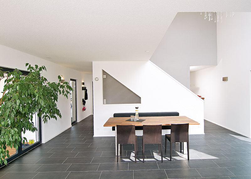 Eingangsbereich Haus Gregorini von WeberHaus