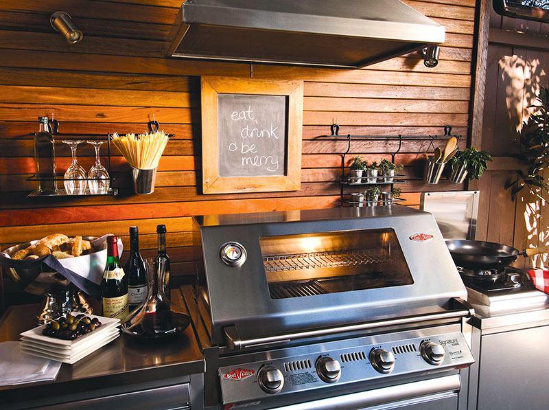 Outdoor-Küche (Foto: gardelino.de)