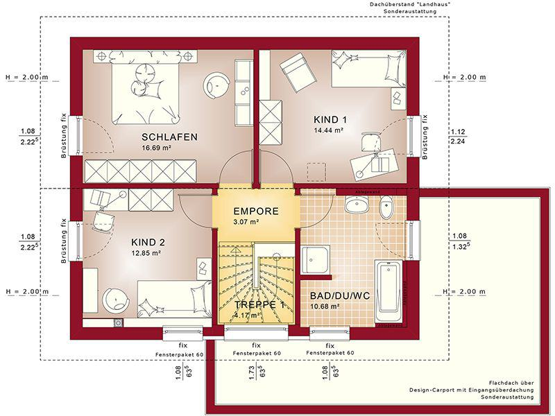 Grundriss Dachgeschoss Edition 1 V2 (Bien-Zenker)