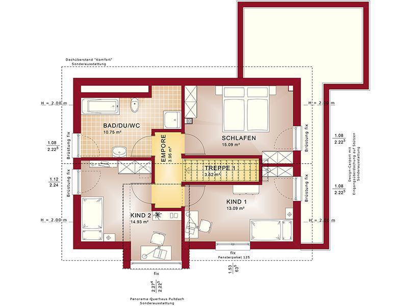 Grundriss Dachgeschoss Edition 4 V2 (Bien-Zenker)