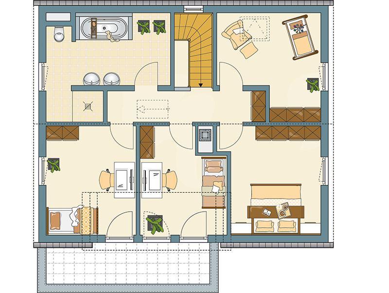 Fingerhaus grundrisse  Entwurf Kundenhaus von FingerHaus | zuhause3.de