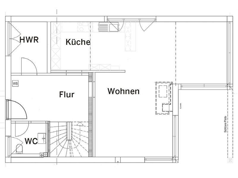 Grundriss Erdgeschoss Landhaus139 (Luxhaus)