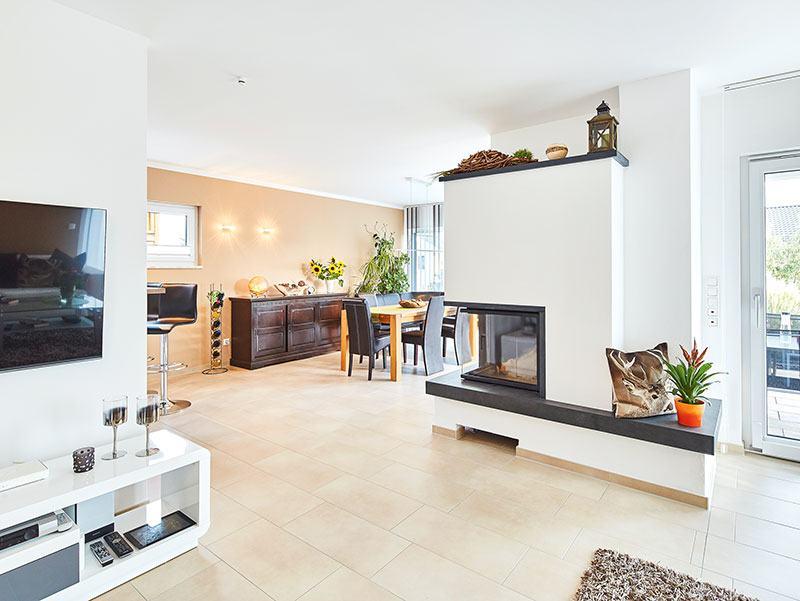 Luxhaus Landhaus139 - Essbereich