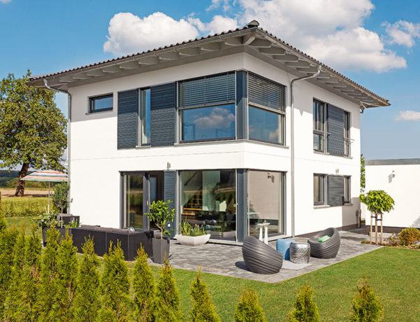 Entwurf Kundenhaus von SchwörerHaus Außenansicht