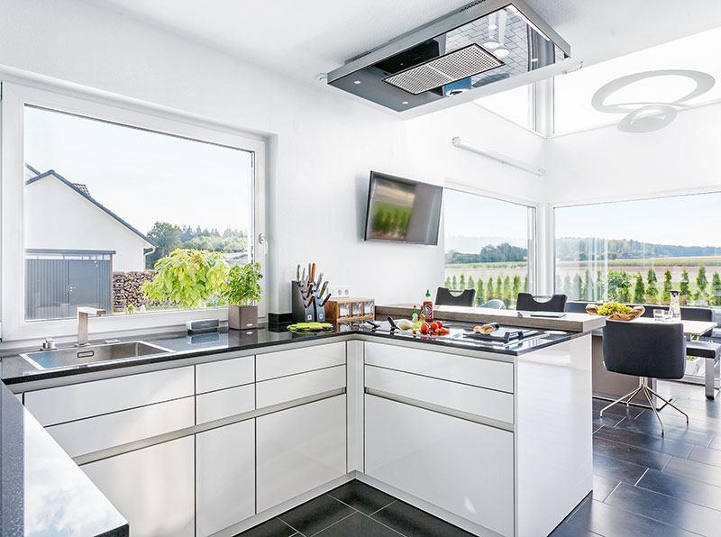 Entwurf Kundenhaus von SchwörerHaus Kochen und Essen