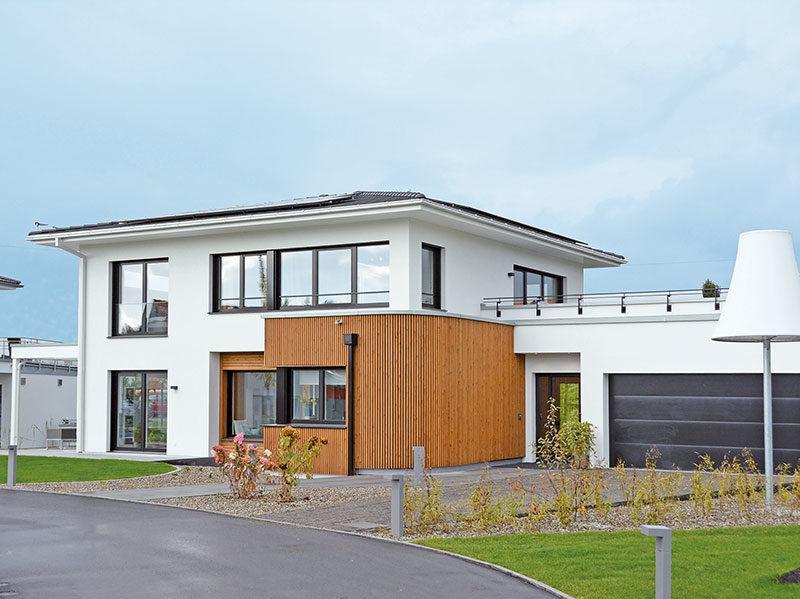 WeberHaus CityLife450 - Aussenansicht