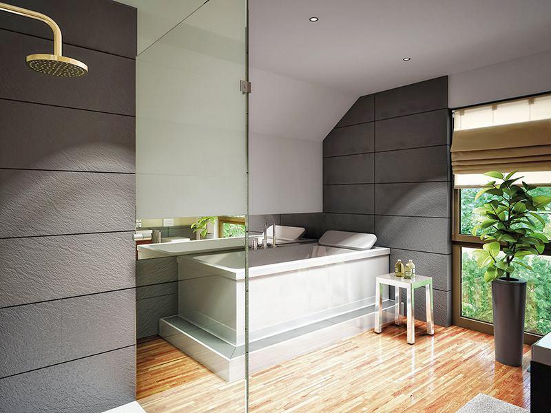 Wohnbeispiel Bad (Living Haus)