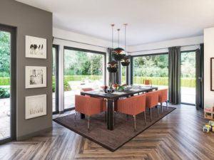 SUNSHINE Wohnbeispiel Esszimmer (Living Haus)