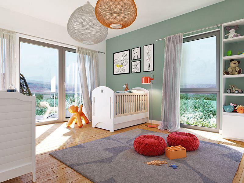 SUNSHINE Wohnbeispiel Kinderzimmer (Living Haus)