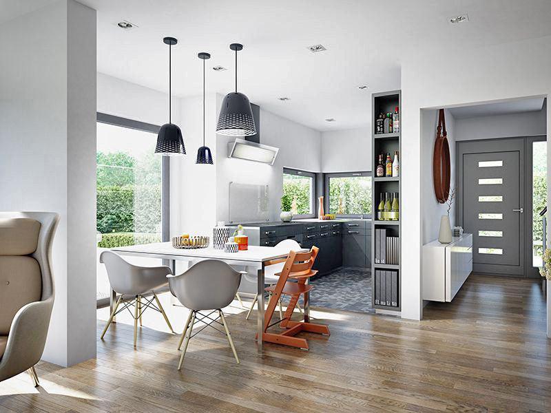 Wohnbeispiel Küche (Living Haus)