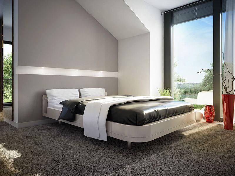 Wohnbeispiel Schlafzimmer München (Bien Zenker)