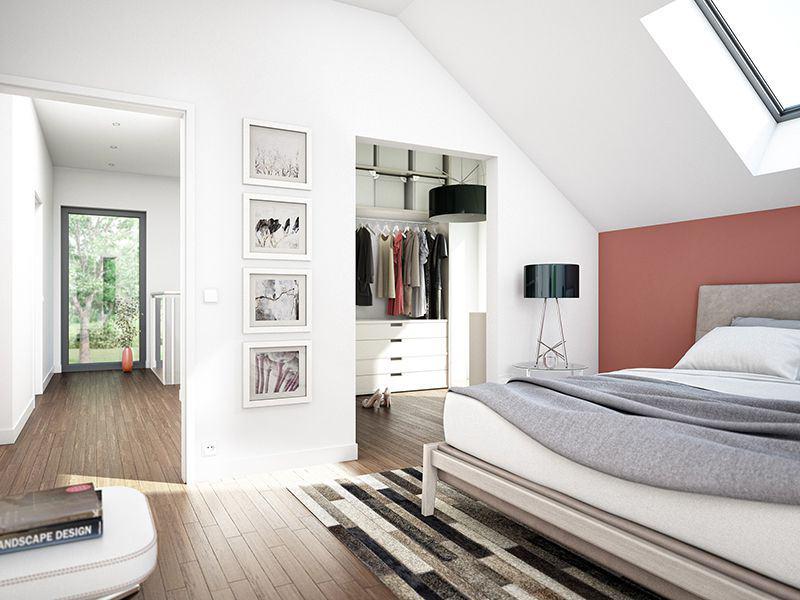 Wohnbeispiel Schlafzimmer Bad Vilbel (Bien-Zenker)