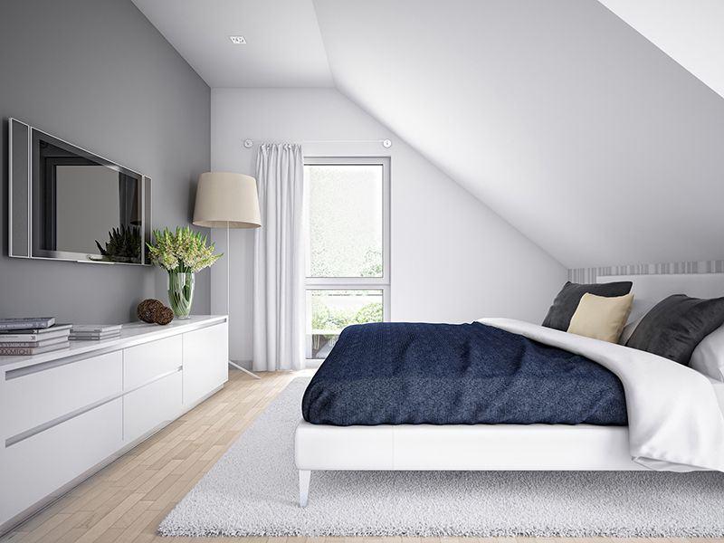 Wohnbeispiel Schlafzimmer Edition 1 (Bien-Zenker)