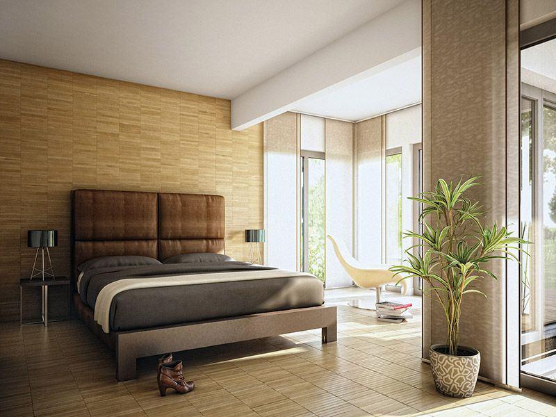 Wohnbeispiel Schlafzimmer Evolution 100 (Bien-Zenker)