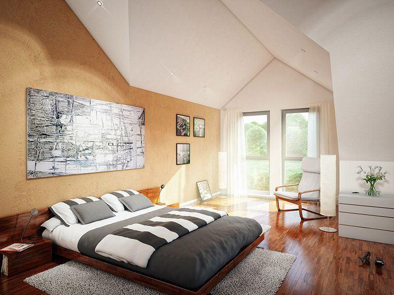 Wohnbeispiel Schlafzimmer Evolution 207 (Bien-Zenker)
