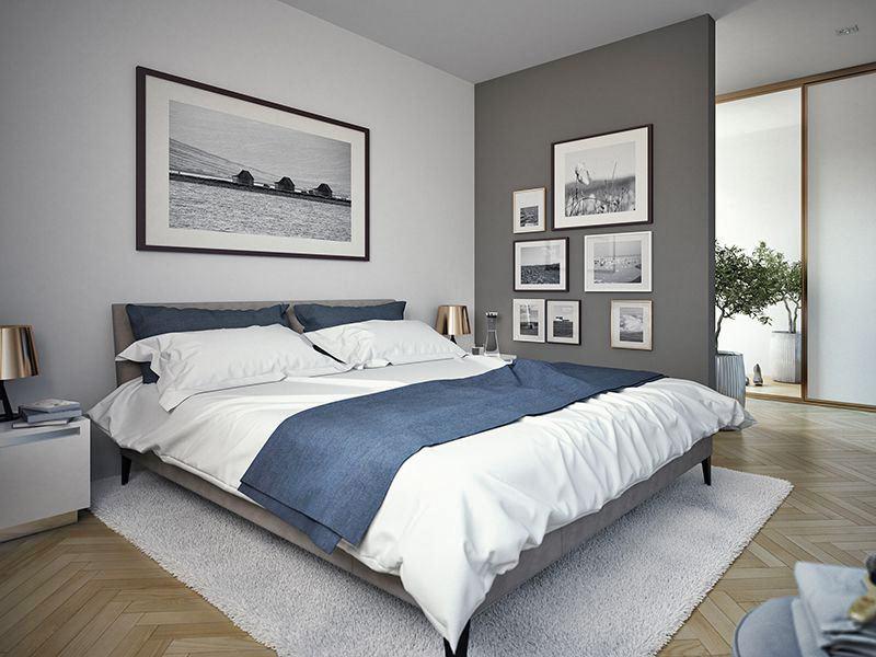 Wohnbeispiel Schlafzimmer (Living Haus)
