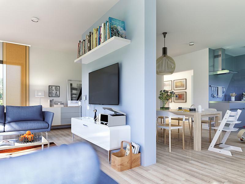Wohn- und Esszimmer Solution 100 V2 von Living Haus
