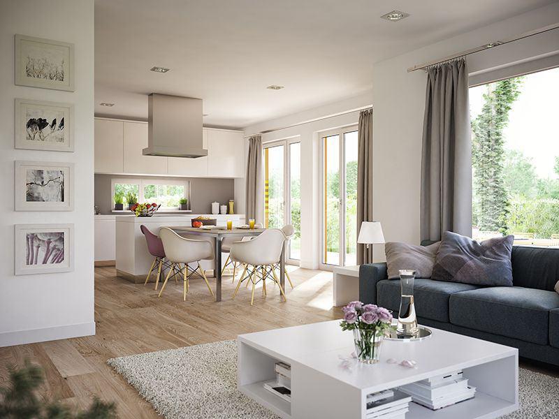 Wohnküche SOLUTION 124 V7 von Living Haus
