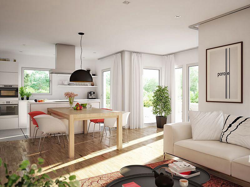 SUNSHINE Wohnbeispiel Schlafzimmer (Living Haus)