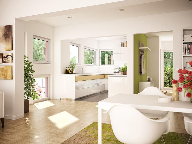 Wohnbeispiel Wohnküche SOLUTION 78 V7 von Livinghaus