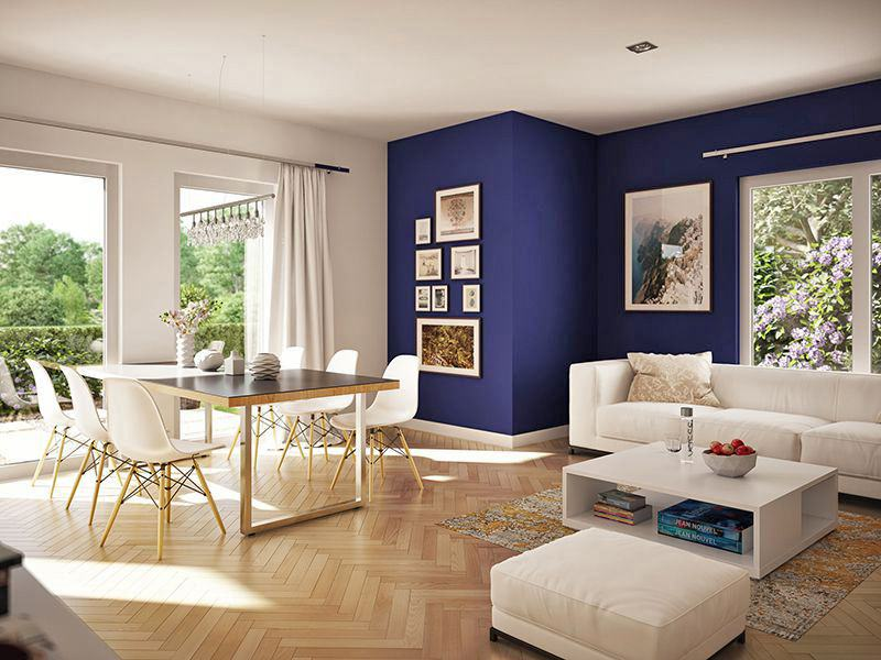 Wohnbeispiel Wohnzimmer (Living Haus)