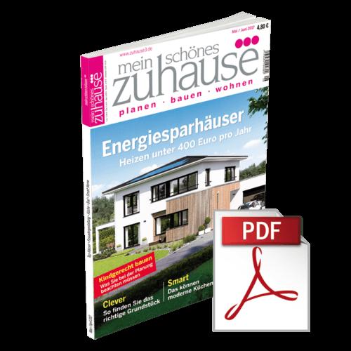 mein schönes zuhause°°° Ausgabe Mai/Juni 2017 - Ebook