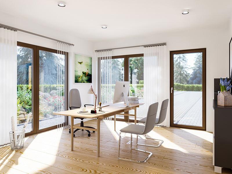 SUNSHINE Wohnbeispiel Büro (Living Haus)