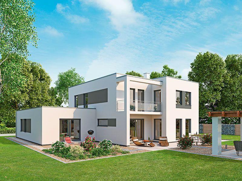 Innovationshaus-240-Aussenansicht-Garten