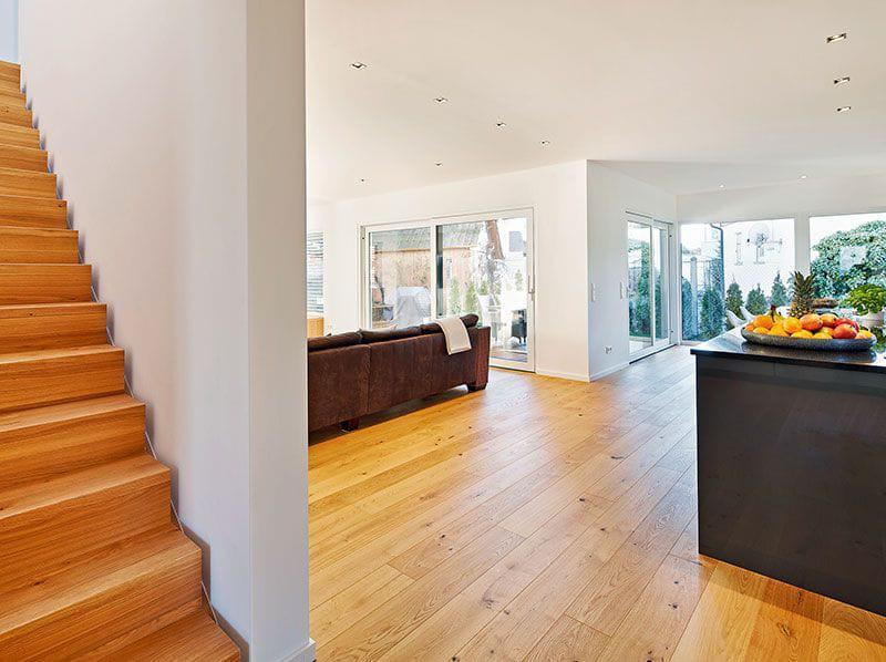 Landhaus 207 von LUXHAUS Treppe