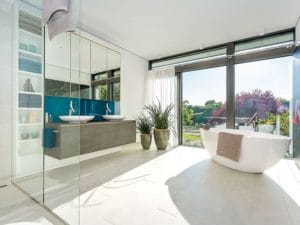 Entwurf Modum Musterhaus Mannheim von HUF HAUS Bad