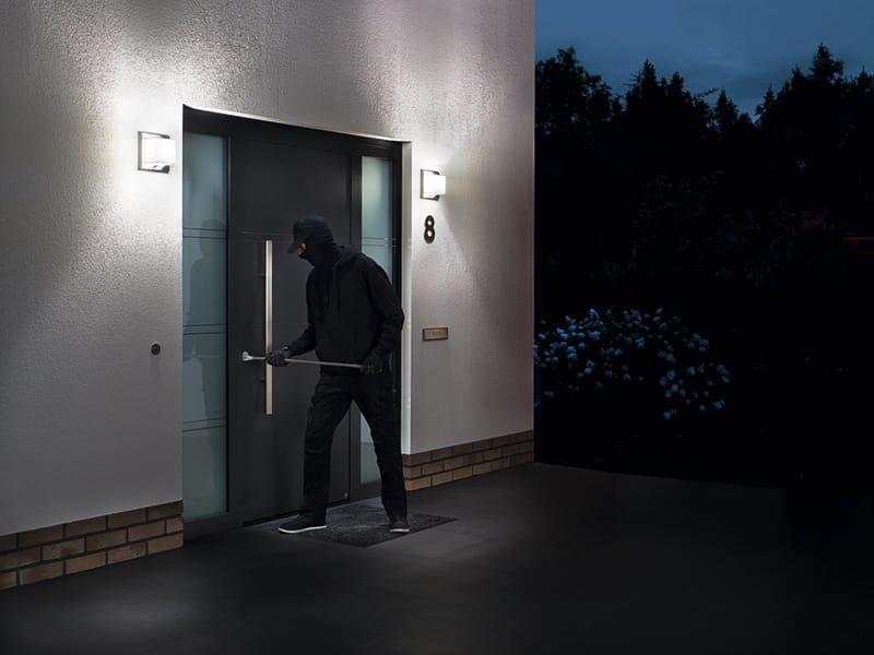 Sicherheitstür von Hörmann dient dem Einbruchschutz