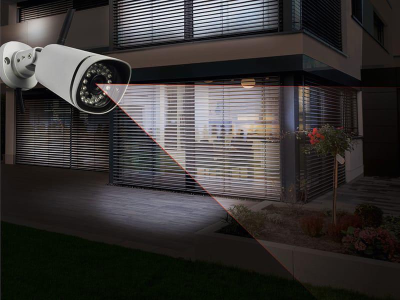 HD Außenkamera von Rademacher dient dem Einbruchschutz