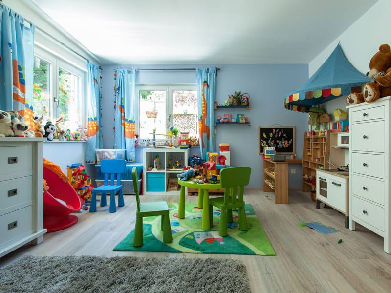 Haus Bretzler - Kinderzimmer (Foto: Wolf System)