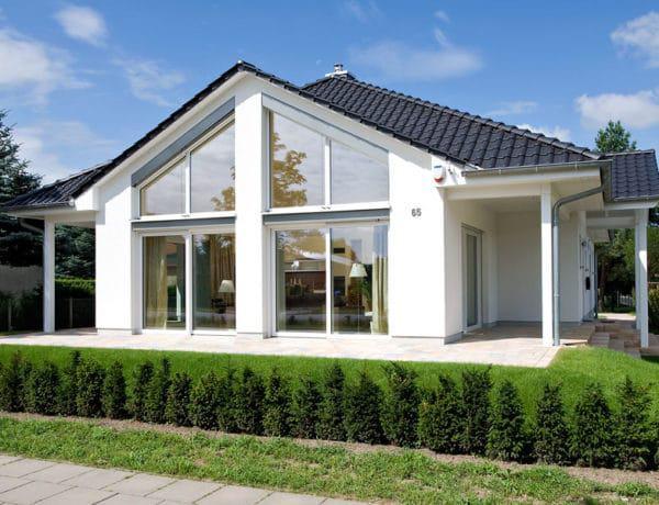 Außenansicht Musterhaus Oranienburg von Heinz von Heiden