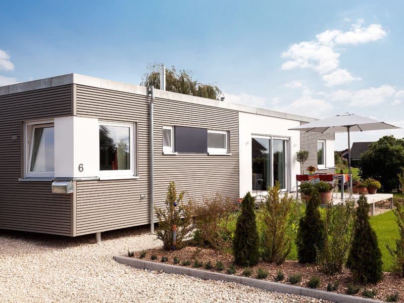 Wohnbox von schw rerhaus for Flying spaces