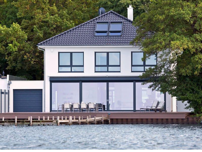 Villa am Meer von Heinz von Heiden