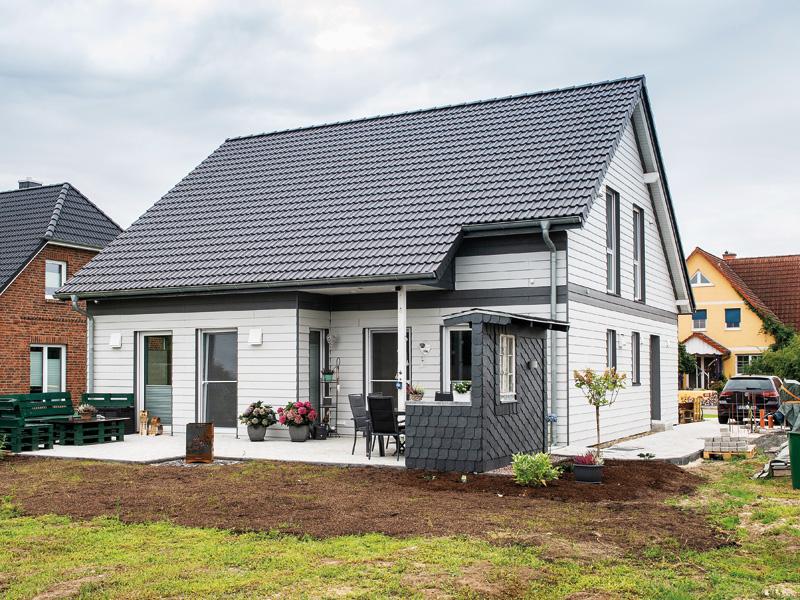 EFH 144 von Ytong Bausatzhaus. Außenansicht