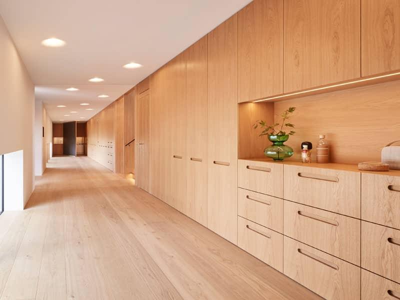 Funktionswand Entwurf Haussicht von Baufritz