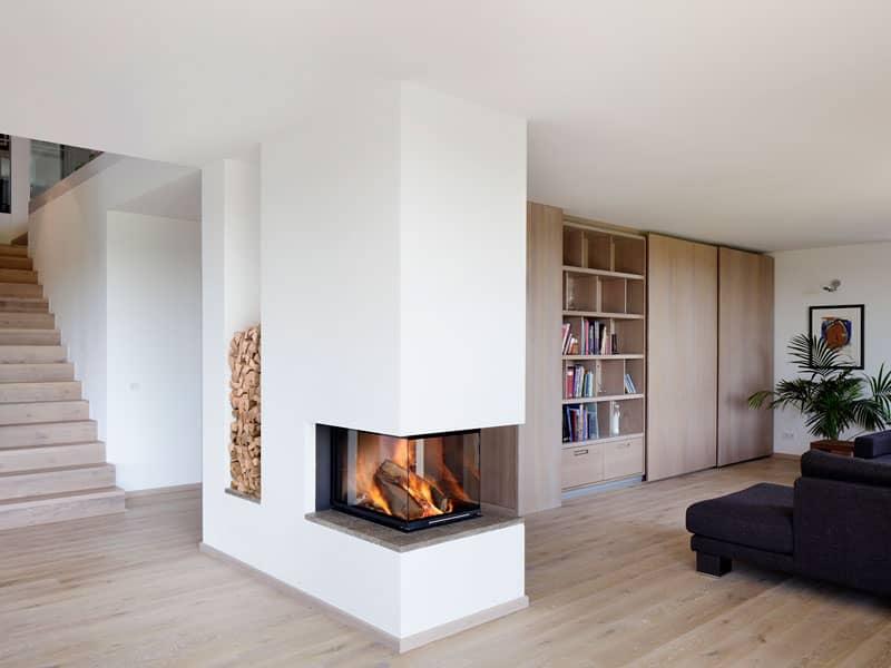 Wohnbereich Haus Kieffer von Baufritz.