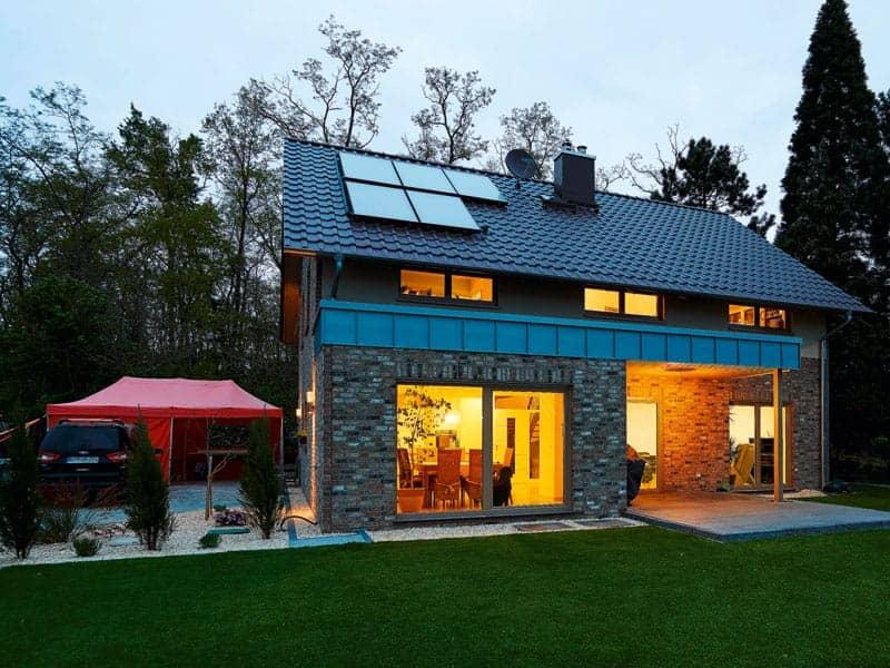 Entwurf Frankenbach von Gussek Haus Außenansicht