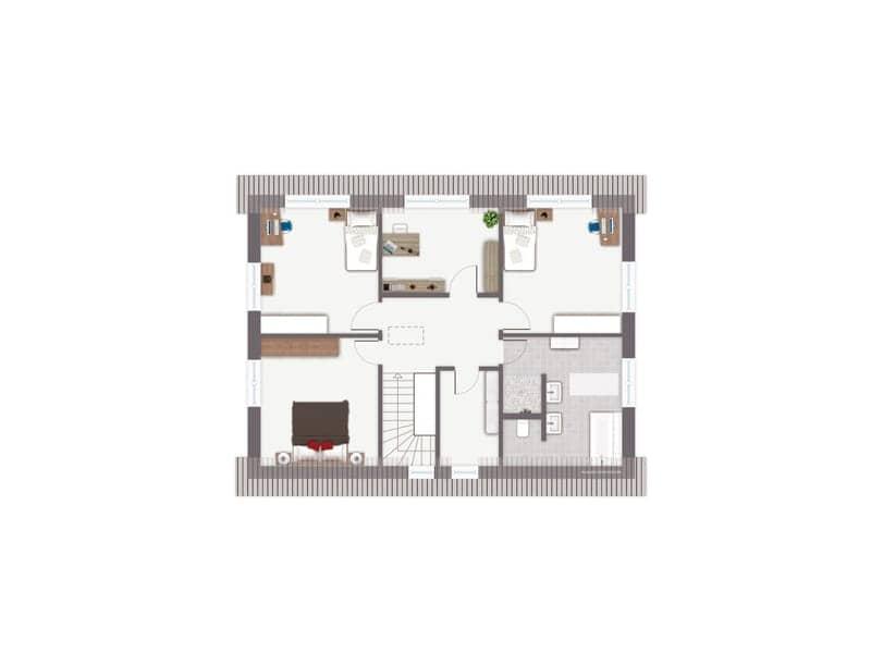 Entwurf Frankenbach von GUSSEK Haus