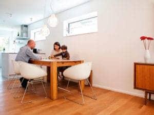 Entwurf Murano von Gussek Haus Essbereich