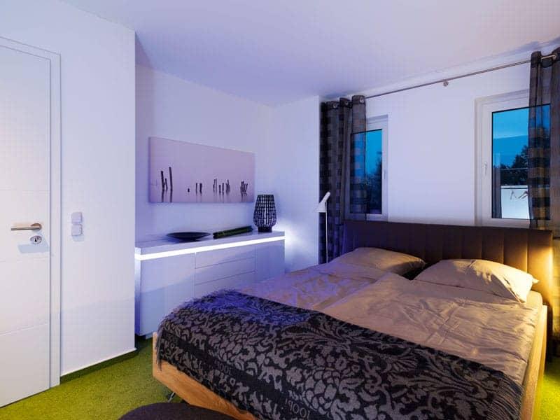 Villa Köpenick von Heinz von Heiden Schlafzimmer