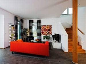 Villa Köpenick von Heinz von Heiden Wohnbereich