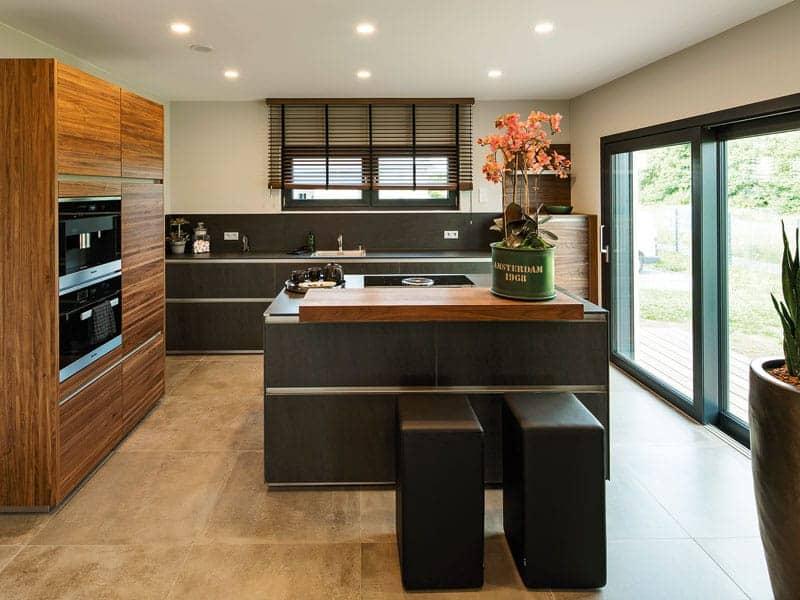 Musterhaus Maxim von Fingerhaus Küche