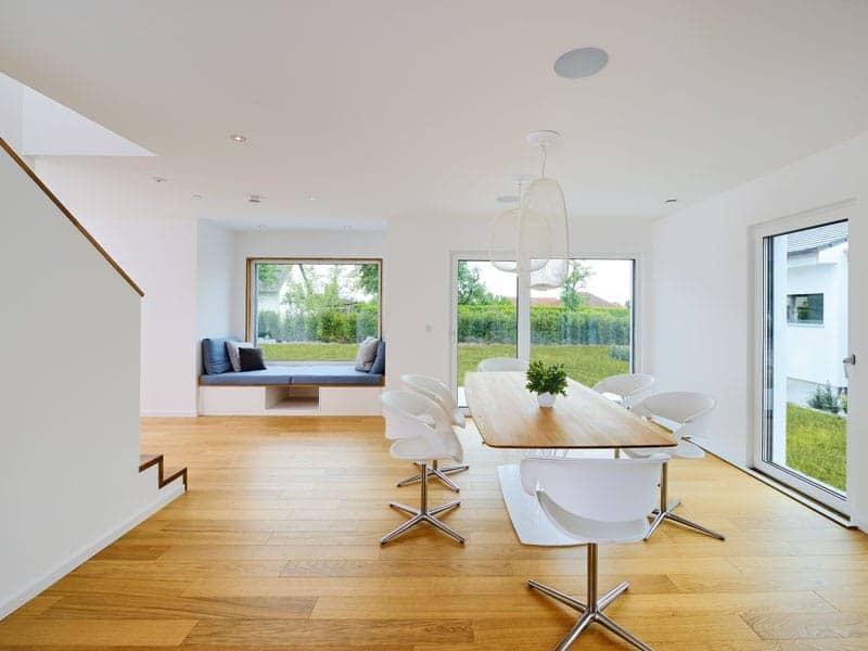 Musterhaus LIFE von Fertighaus Weiss Wohnbereich